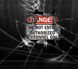 Обои на телефон экран, опасные, блокировка, enter, do not enter, do not