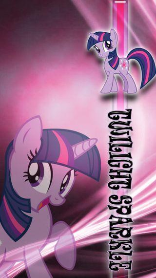 Обои на телефон сумерки, фиолетовые, сверкающие, пони, мой, маленький, единорог, девушки, twilight sparkle, brony
