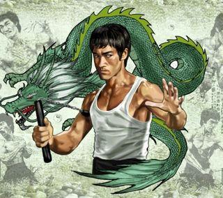 Обои на телефон боец, фильмы, ли, дракон, брюс, арт, martial arts, dragon, bruce lee