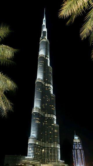 Обои на телефон высокий, дубай, бурдж, башня, burj khalifa