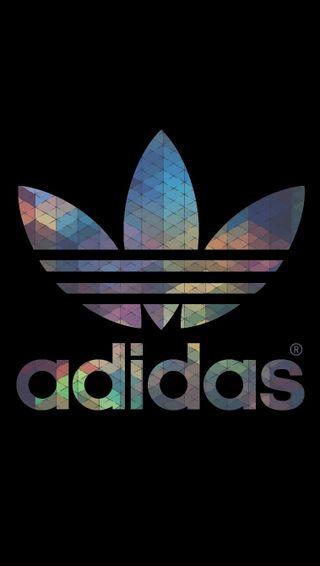 Обои на телефон адидас, цветные, логотипы, adidas