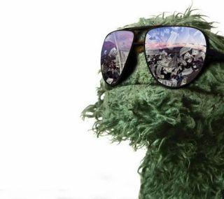 Обои на телефон agro, sesame street, agro sees green, крутые, новый, зеленые, развлечения, улица, персонажи