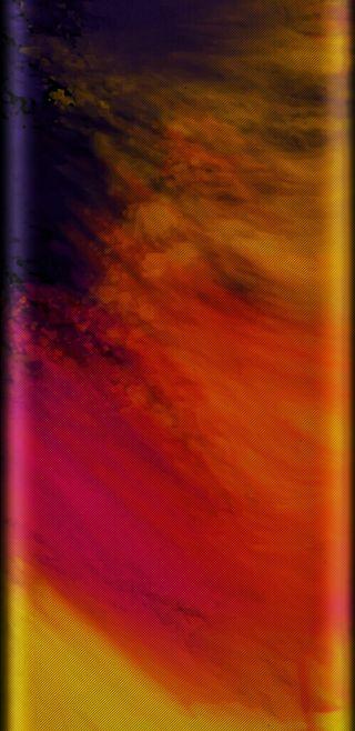 Обои на телефон иллюзии, экран, цветные, узоры, самсунг, неоновые, красочные, грани, арт, samsung, hdr, colorful edge, art, 4k