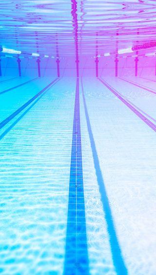 Обои на телефон синие, вода, абстрактные, swimmer, swim, pool, olympiad, hd