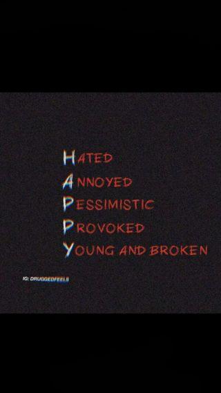 Обои на телефон ненависть, цитата, счастливые, сам, грустные, sad happy