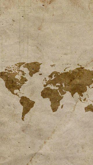 Обои на телефон мир, карта, дизайн
