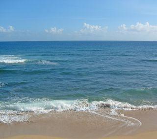 Обои на телефон пляж, море, beach and sea