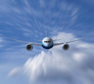 Обои на телефон самолет, летать