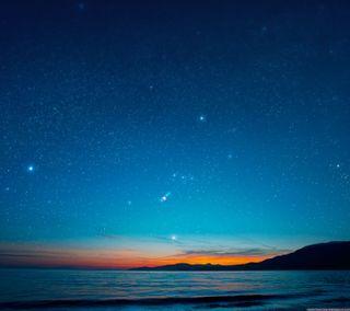 Обои на телефон вечер, синие, приятные, новый, blue evening