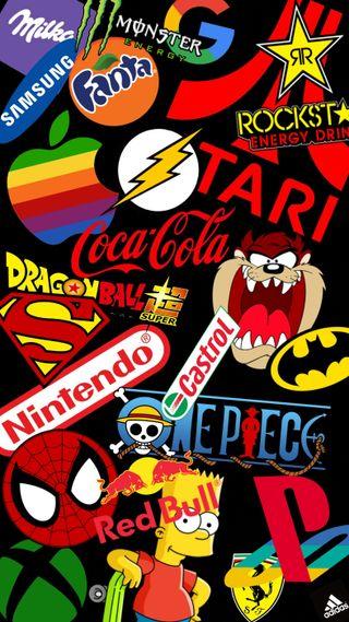 Обои на телефон apple, dc, playstation, best logos, логотипы, эпл, лучшие, супергерои