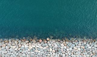 Обои на телефон океан, грани, пляж, море, камни, залив, галактика, the edge, karnbadjatia, karn, galaxy, drone, dji