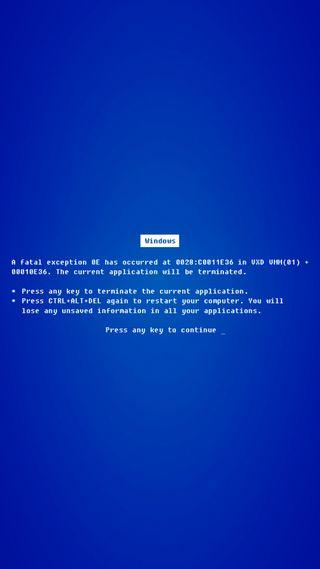 Обои на телефон экран, смерть, синие, майкрософт, забавные, xp, windows 10, windows, vista, blue screen of death, 98