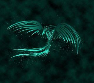 Обои на телефон феникс, летать, птицы