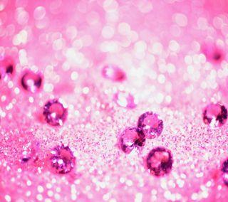 Обои на телефон розовые, жемчуг, beats, 3д, 3d wallpapers, 3d pink pearls