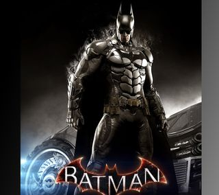 Обои на телефон рыцарь, бэтмен, аркхем, batman arkham knight