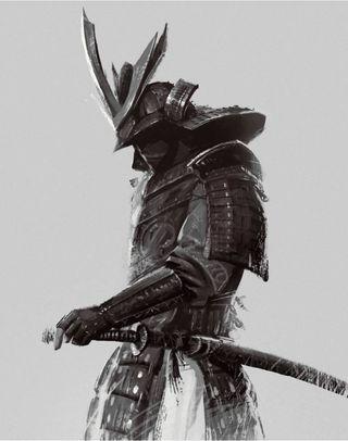 Обои на телефон самурай, герой