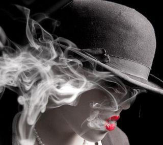 Обои на телефон сигареты, губы, новый, люди, красые, женщина, pose