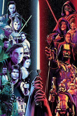 Обои на телефон ситх, световой меч, первый, империя, джедай, постер, звезда, войны, star wars poster, star wars, resistance, rebels, prequels, first order, darkside