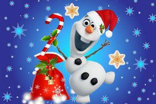 Обои на телефон холодное, счастливое, снеговик, рождество, олаф, мультфильмы