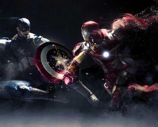 Обои на телефон старк, мстители, война, америка, avengers cival war