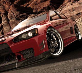 Обои на телефон колеса, скорость, новый, машины, лансер, крутые, красые, гоночные, автомобили