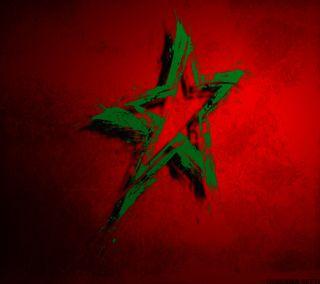 Обои на телефон флаг, самсунг, лучшие, красые, звезда, галактика, samsung, s4, morocco, maroc, galaxy