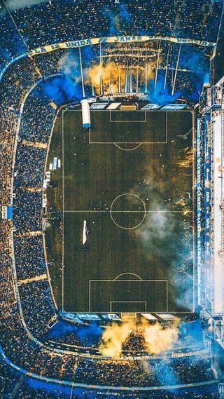 Обои на телефон стадион, аргентина, дым, бока, junior, estadio bombonera, bombonera