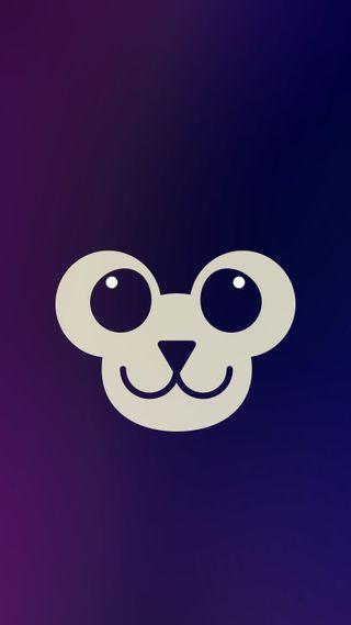 Обои на телефон обезьяны, фиолетовые, милые, лицо, забавные