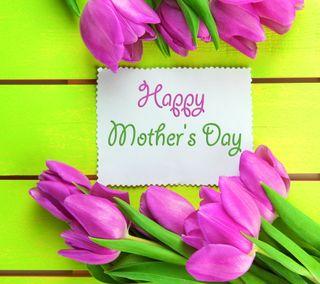 Обои на телефон colorful tulips, красочные, счастливые, день, тюльпаны, матери
