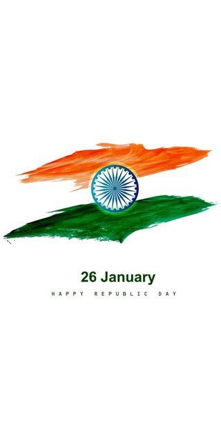 Обои на телефон флаг, индия, индийские, день, republic day india, republic day, patriots, jai hind, constitution, bharat, 26 january, 2020, 1950