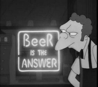 Обои на телефон пиво, забавные, moe, beer not the answer