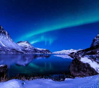 Обои на телефон озеро, природа, прекрасные, небо, горы, mounatin, beautiful mountain