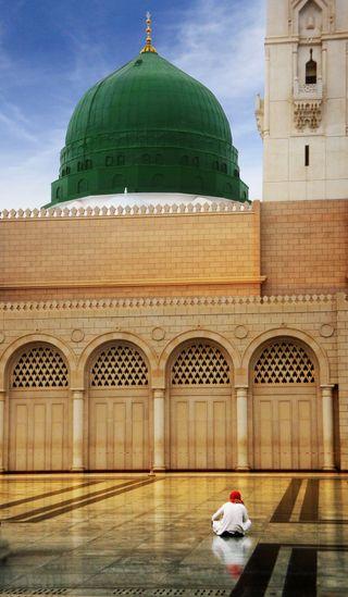 Обои на телефон мечеть, фотография, studiooms