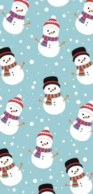 Обои на телефон темы, фан, снеговик, снег, рождество, милые, каникулы, зима, белые