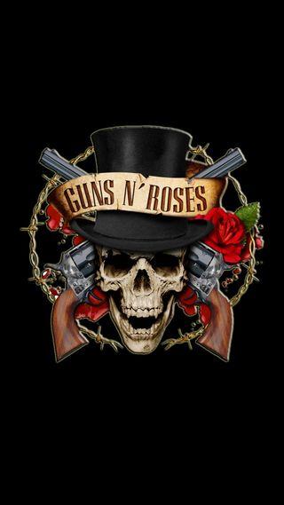 Обои на телефон dj, icio, guns n roses, розы, диджей, оружие