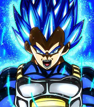 Обои на телефон броли, супер, синие, мяч, дракон, гоку, вегета, аниме, ssj blue, hd, dragon ball super