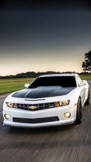 Обои на телефон колеса, шевроле, скорость, машины, камаро, гоночные, белые, nitro, moving, chevrolet, camaro white
