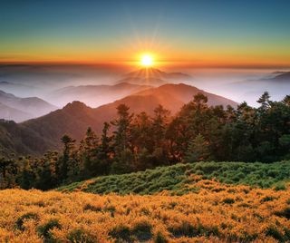 Обои на телефон китай, парк, национальная, закат, горы, taroko park, taroko national park, taiwan