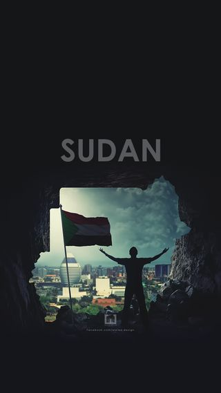 Обои на телефон карта, дизайн, sudan