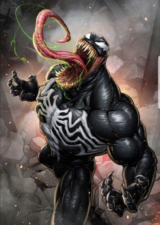 Обои на телефон веном, паук, марвел, marvel, man, hd