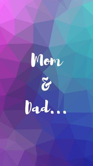 Обои на телефон отец, мама, любовь, love