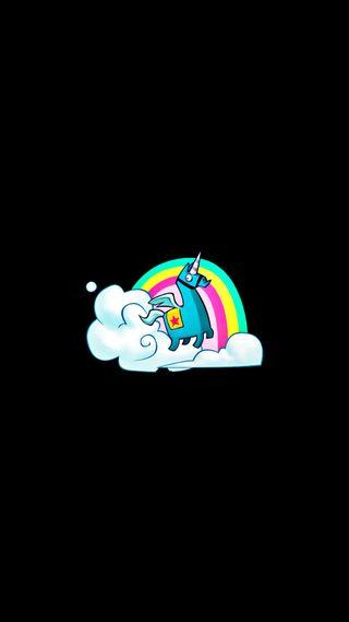 Обои на телефон эпичные, фортнайт, радуга, игры, единорог, llama, fortnite unicorn llama, fortnite, epic games