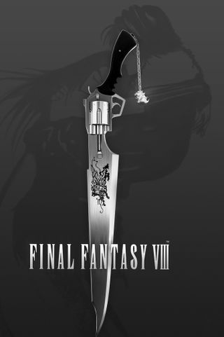 Обои на телефон финал, фантазия, squall, rinoa, gunblade, final fantasy viii, ffviii, ff8