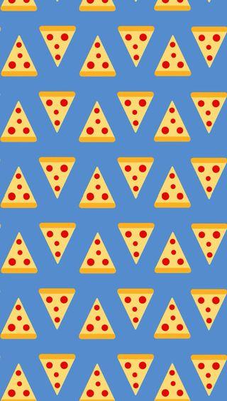 Обои на телефон пицца, шаблон