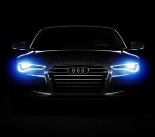 Обои на телефон колеса, черные, тюнинг, спортивные, роскошные, машины, логотипы, ездить, ауди, автомобили, luxury, audi a7