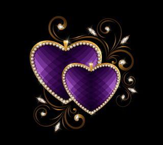 Обои на телефон бриллиант, сердце, роскошные, любовь, валентинка, блестящий, luxury hearts, luxury, love