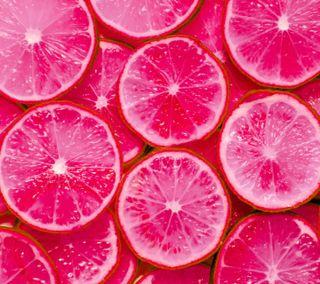 Обои на телефон art, lemons, абстрактные, крутые, новый, розовые, арт, красочные, цветные, фрукты