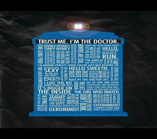 Обои на телефон тардис, доктор, цитата, dw quotes