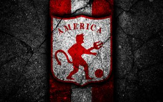 Обои на телефон колумбия, футбол, логотипы, клуб, америка, america de cali
