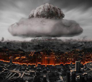 Обои на телефон ядерные, взрыв, город, бомба, nuclear explosion, destruction, atomic bomb